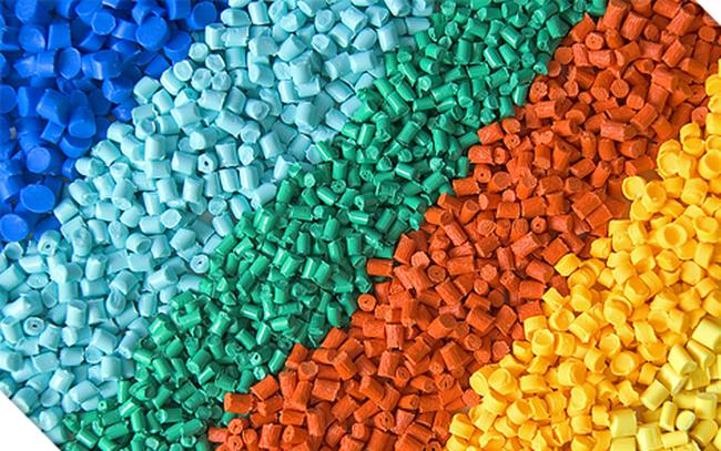 hạt nhựa pha màu
